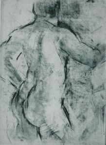 Blue figure