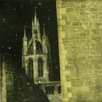 Newcastle cathedal snow