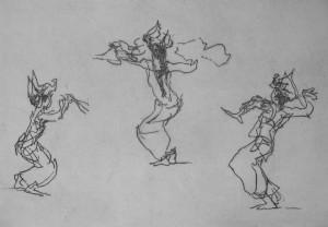 Javenese Dancers