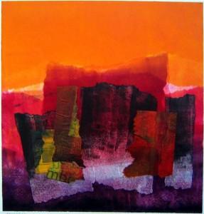Orange and Purple Accretion